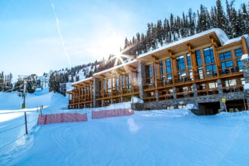 Sunshine Village - ski-in ski-out Lodge in den Rockies