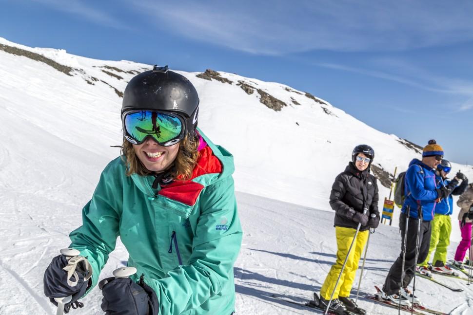 Travelita-Skifahren