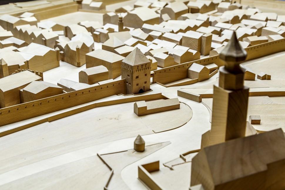 Glurns-Stadtmodell