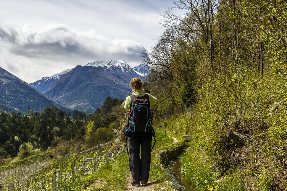 Latsch-Wandern
