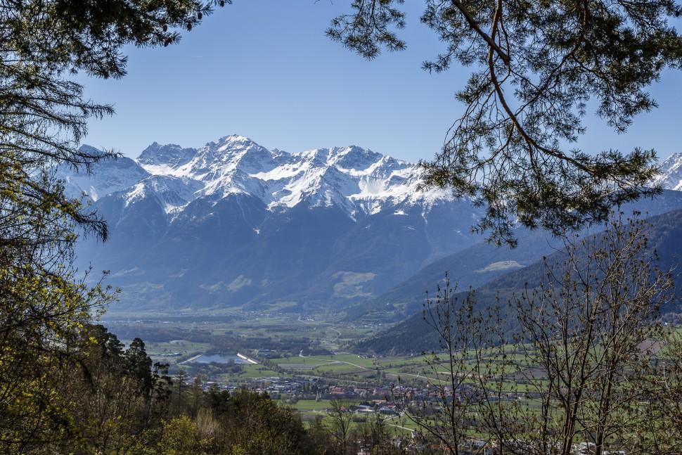 Mals-Oberwaal-Aussicht