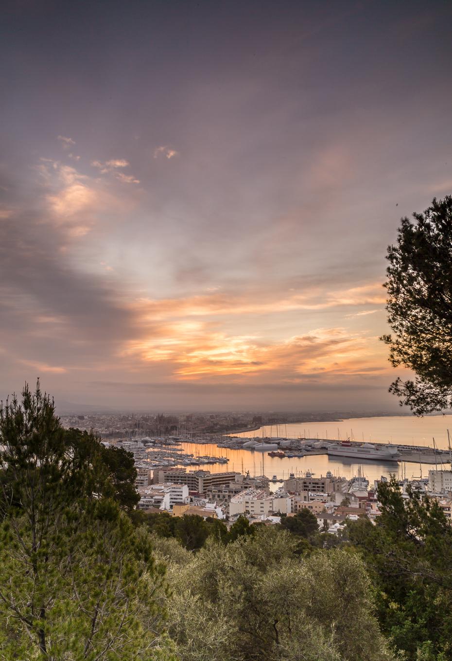 Sonnenaufgang-Castillo-Bellver