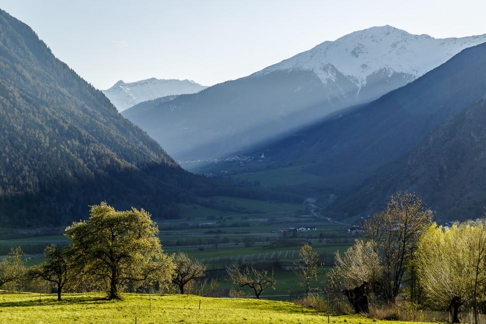 Vinschgau-Landschaft