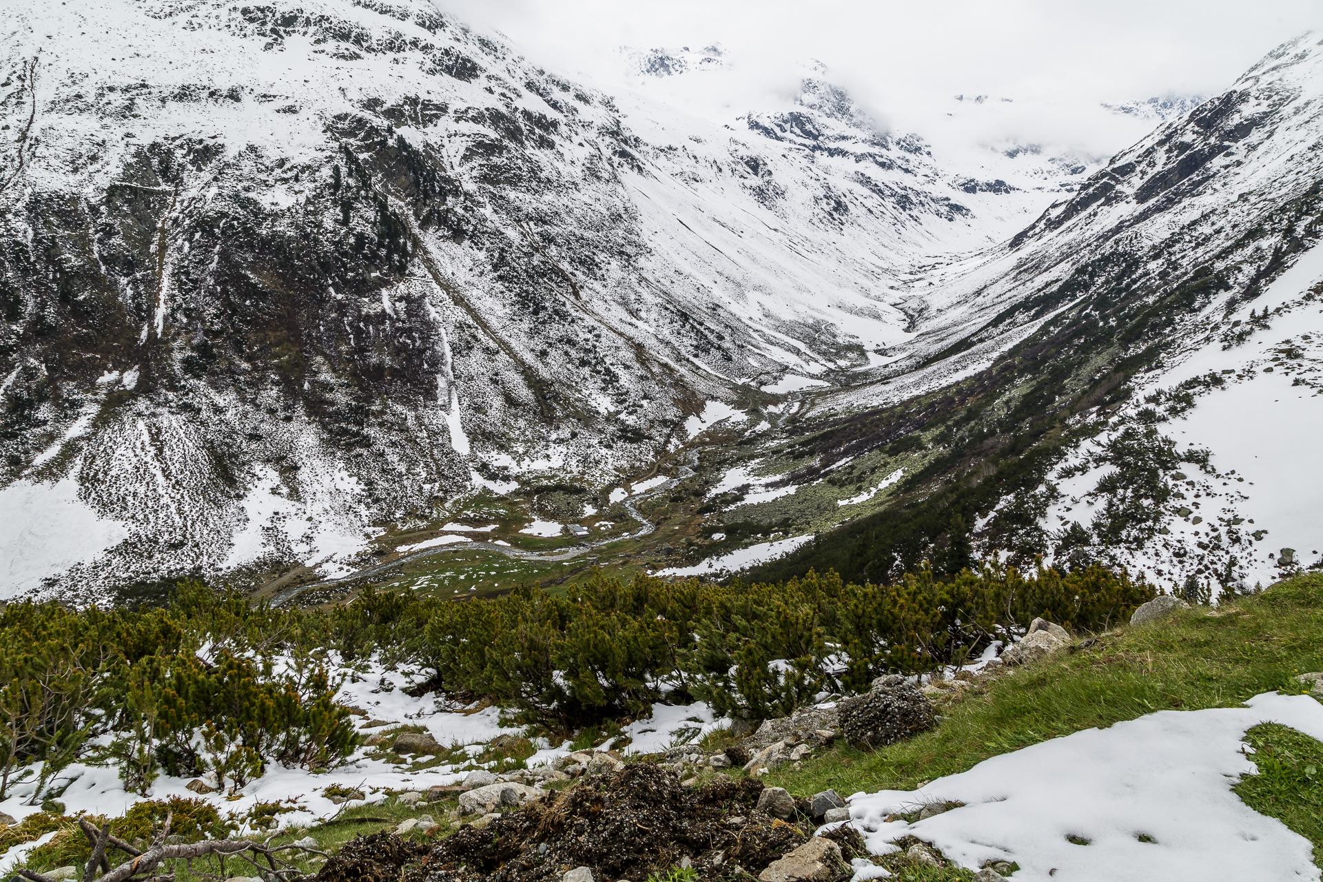 Flüelapass-Landschaft