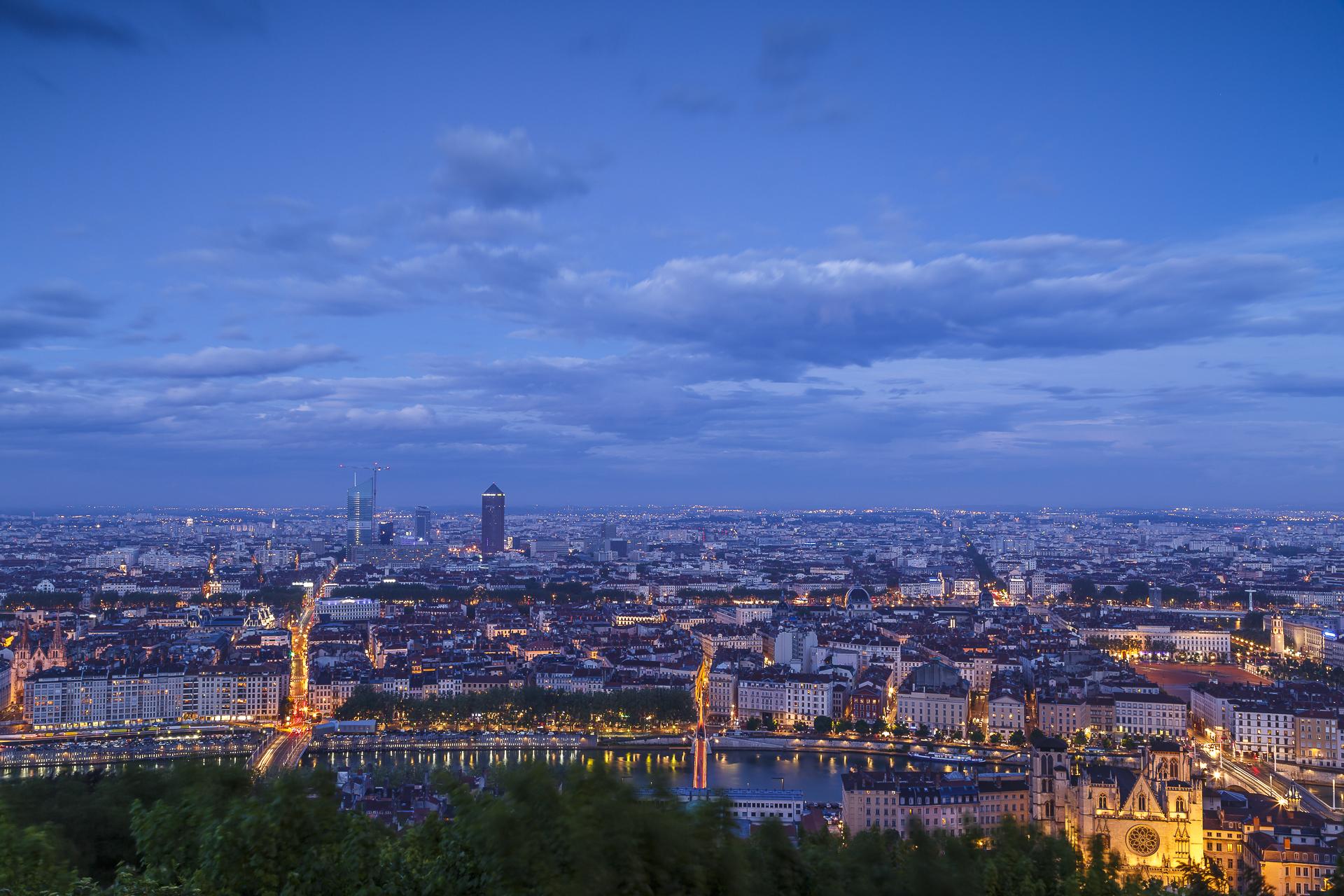 Lyon-Blue-Hour