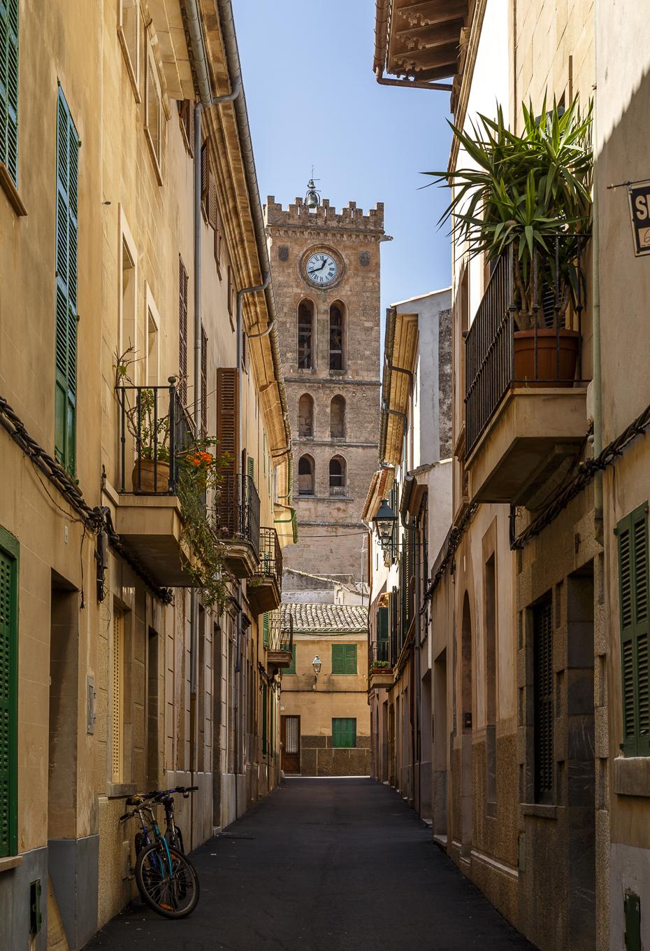 Pollenca-Stadt-Mallorca