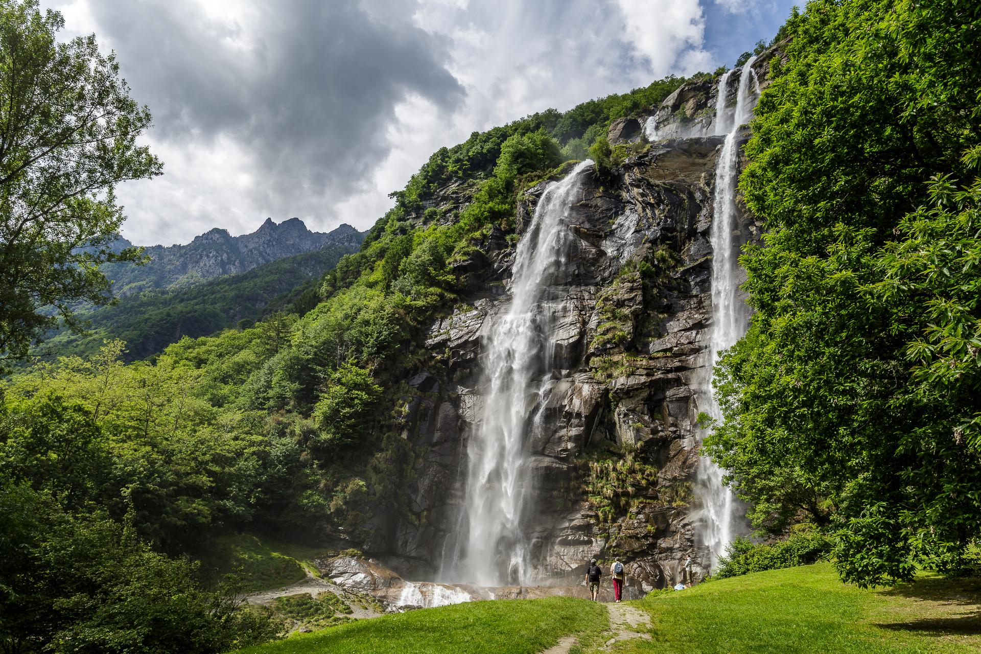 Wasserfall-Borgonuovo