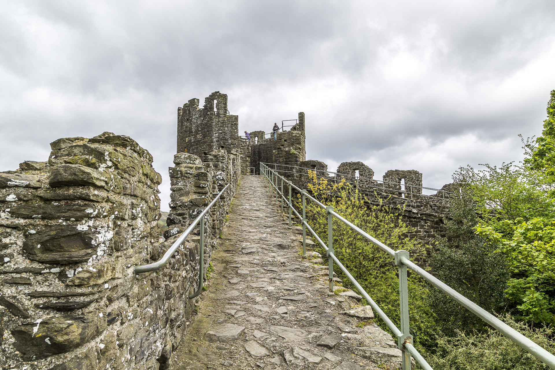 conwy-wales-citywall