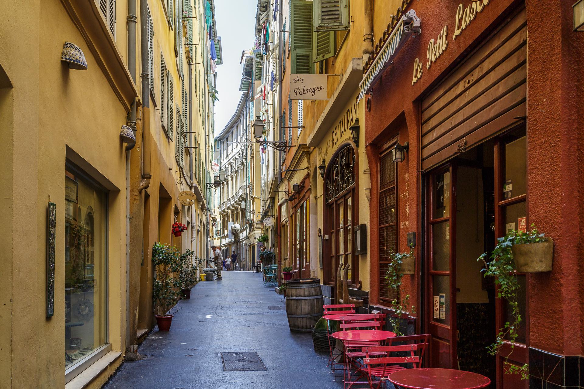 Nizza-Gassen-Altstadt