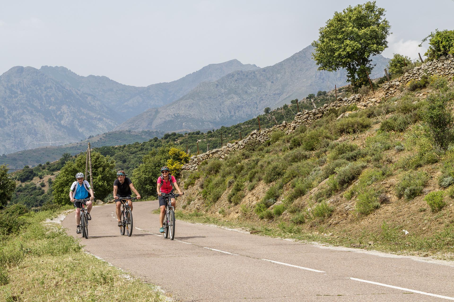 Radtour-Balagne-Korsika