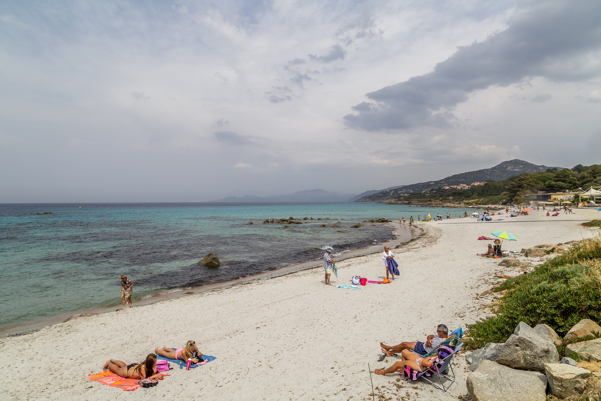 Strand-Ile-Rousse-Korsika