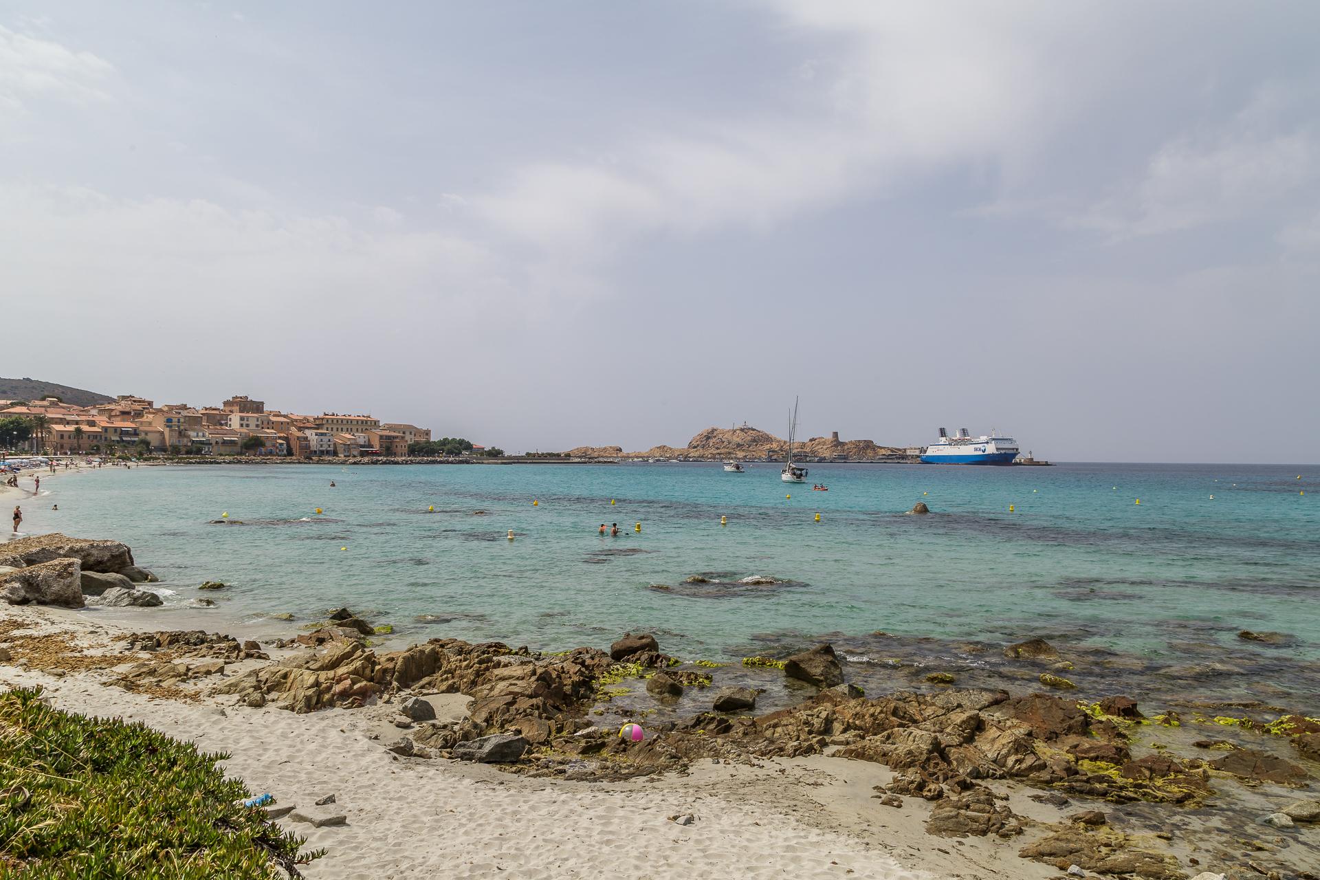 Strand-Ile-Rousse
