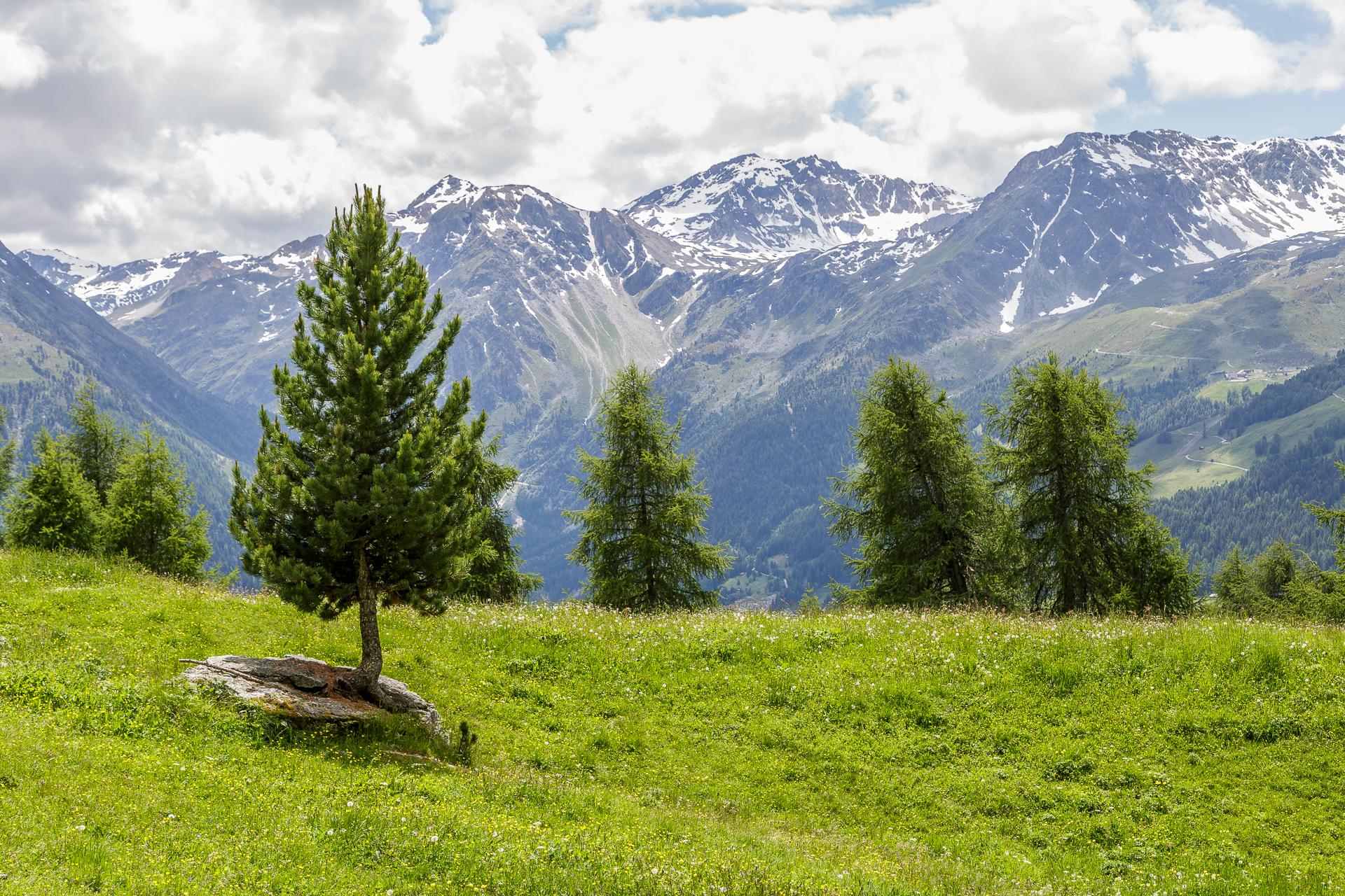 Val-d-Anniviers-Wanderung