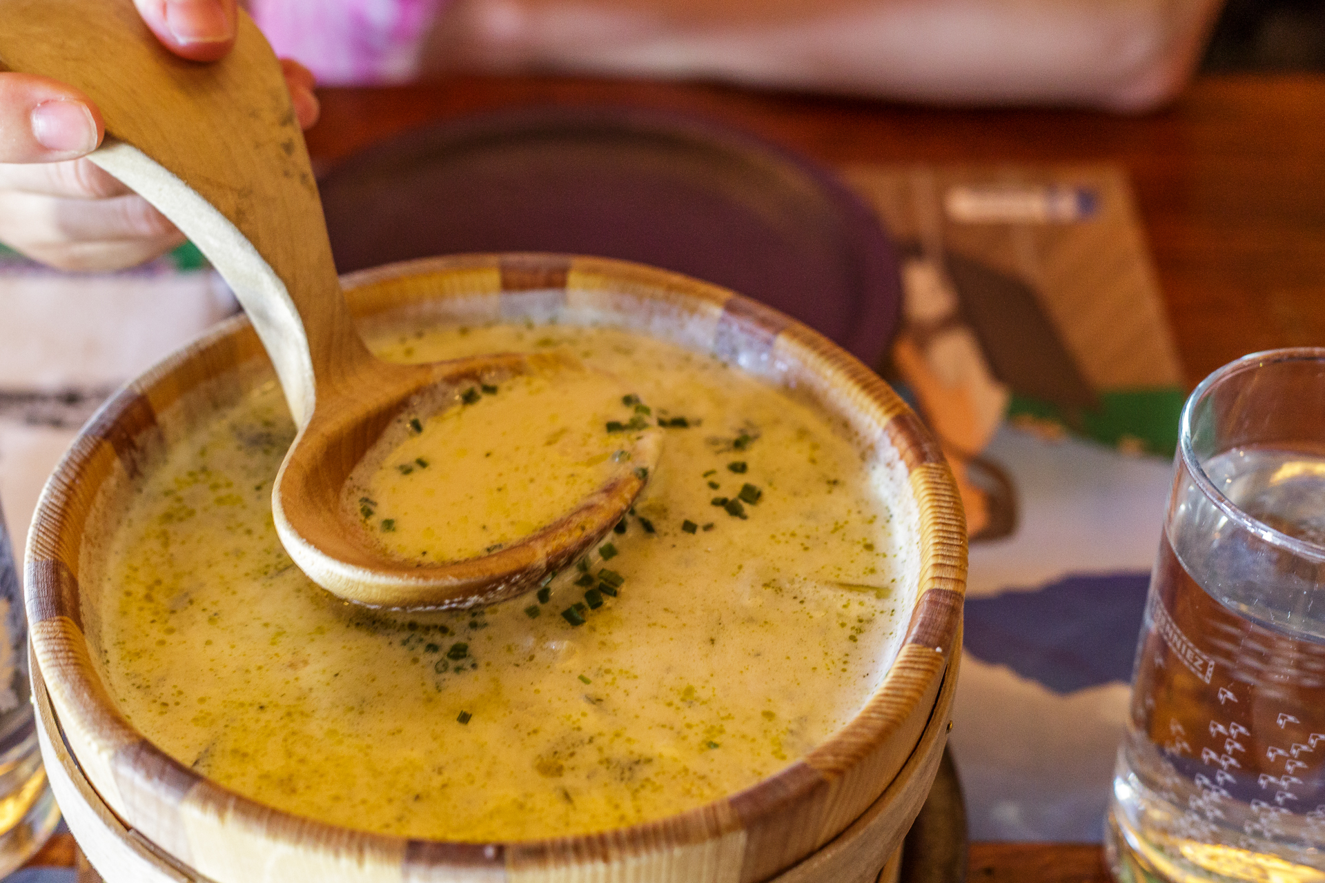 Chaletsuppe-Les-Paccots
