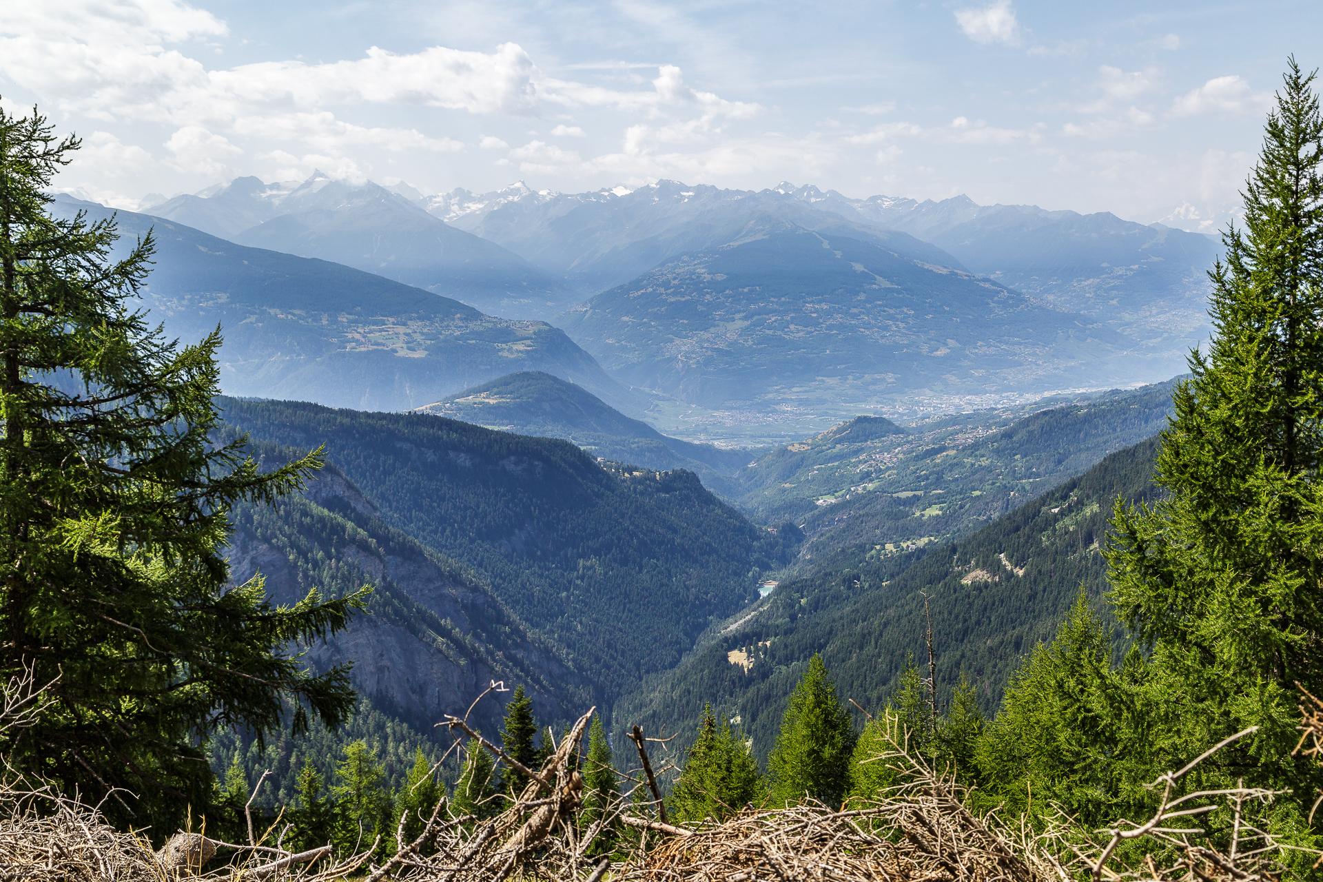 Crans-Montana-Aussicht
