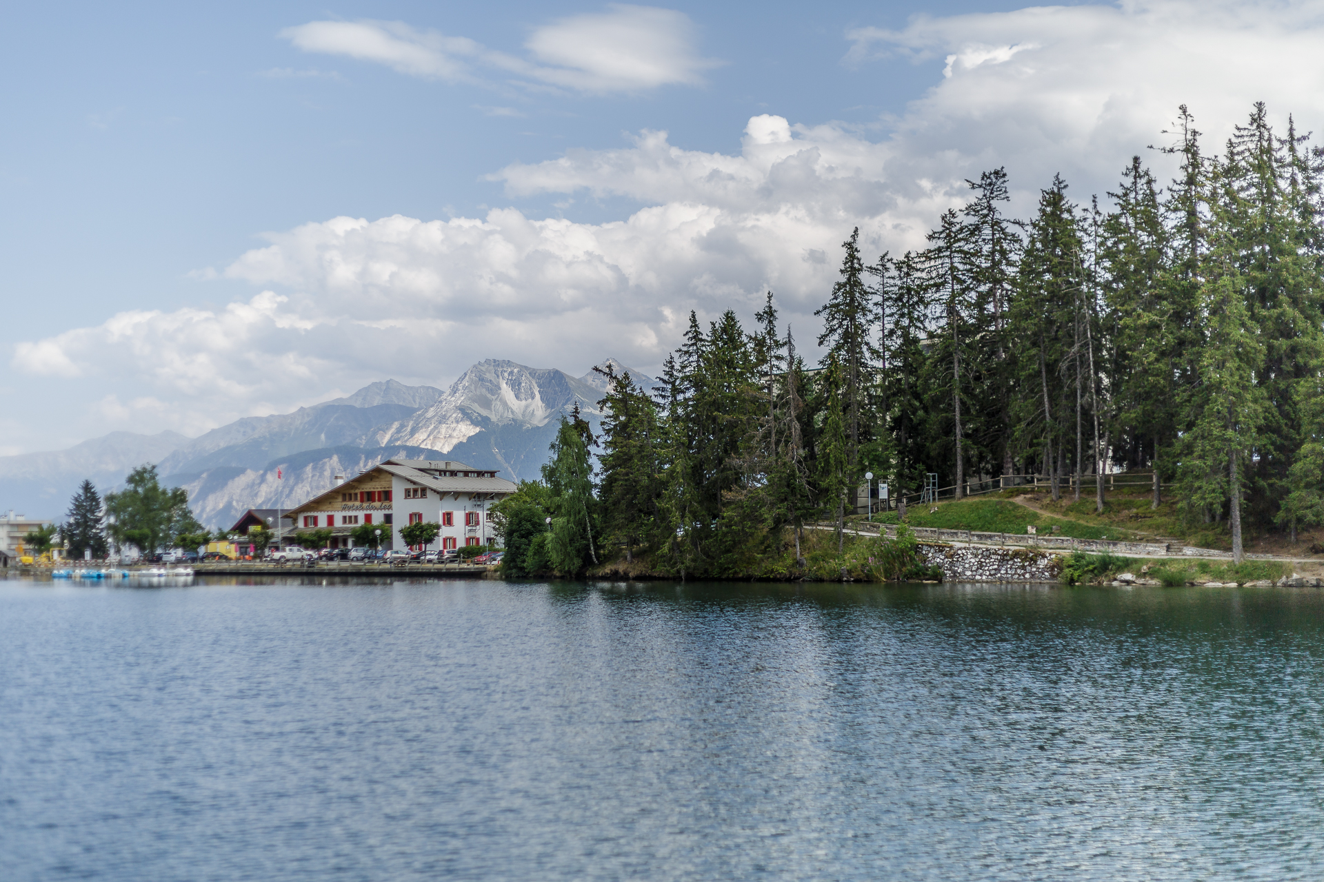 Crans-Montana-See