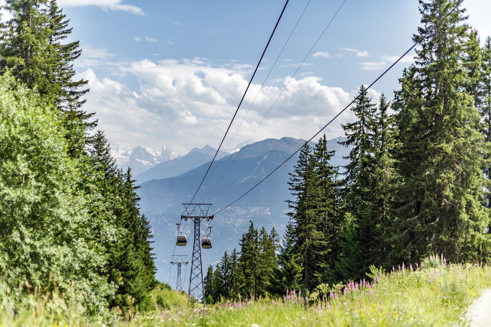 Crans-Montana-Seilbahnen-Sommer