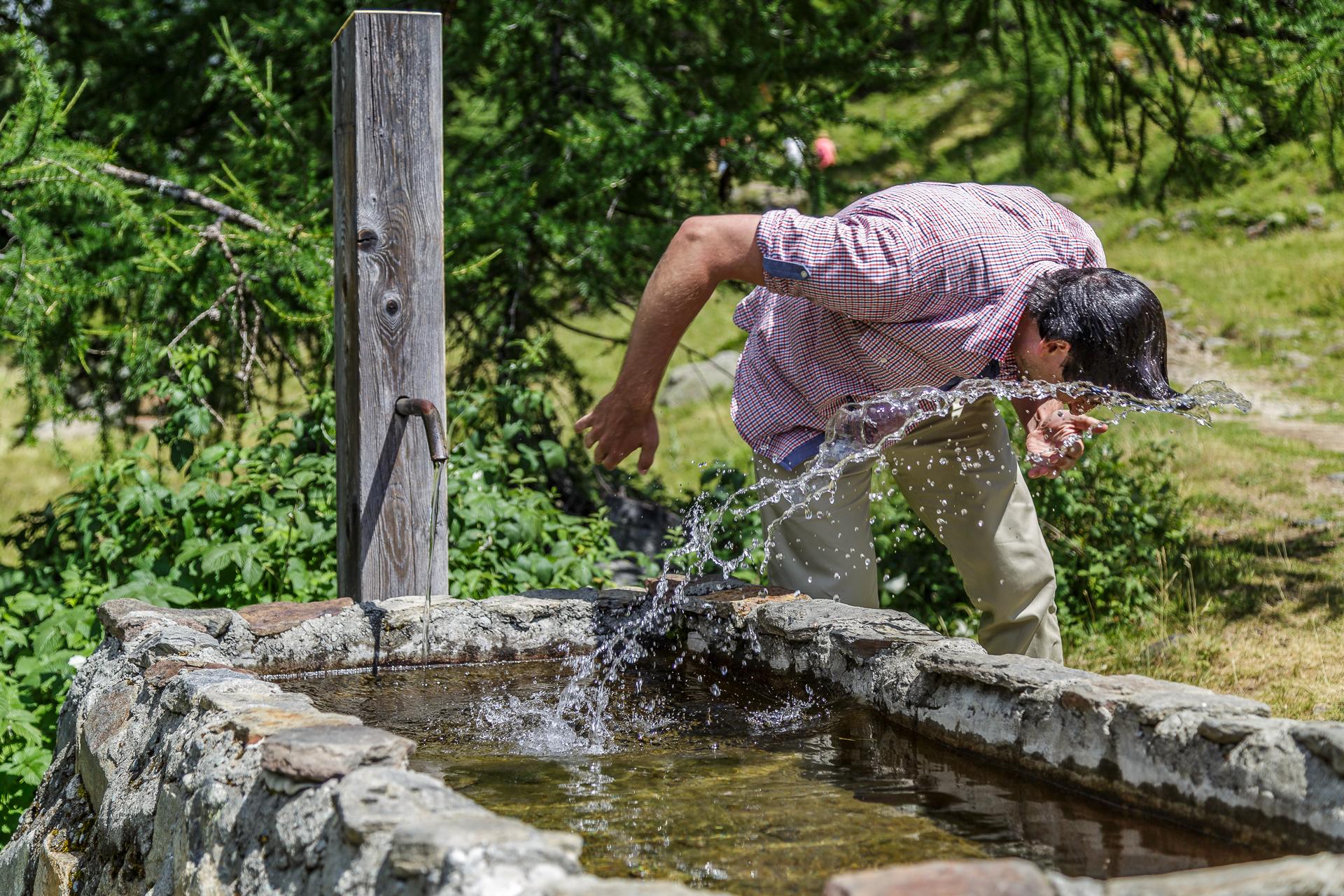 Erfrischung-Brunnen