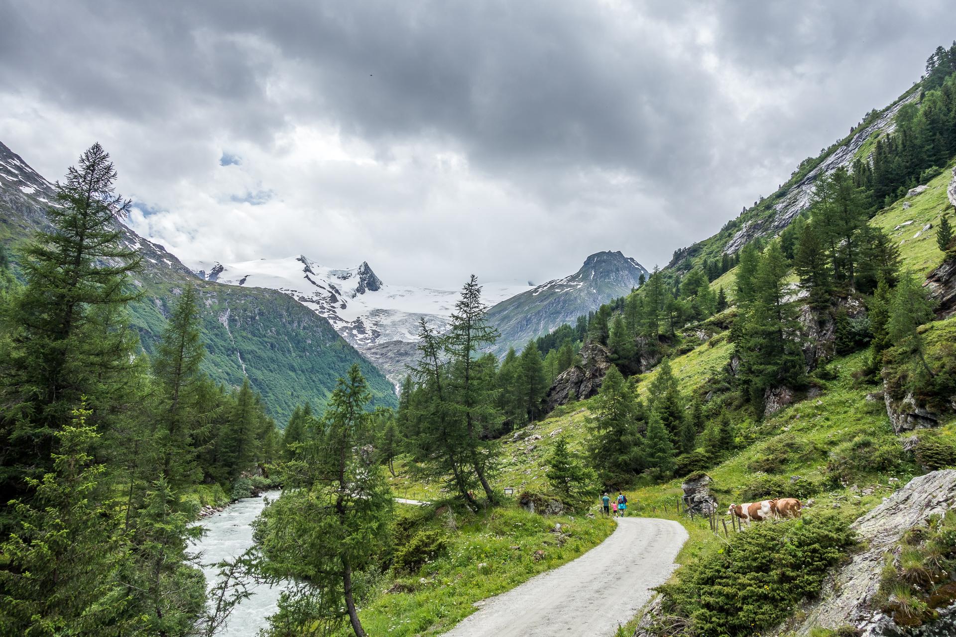 Innergschloess-Gletscherwanderweg