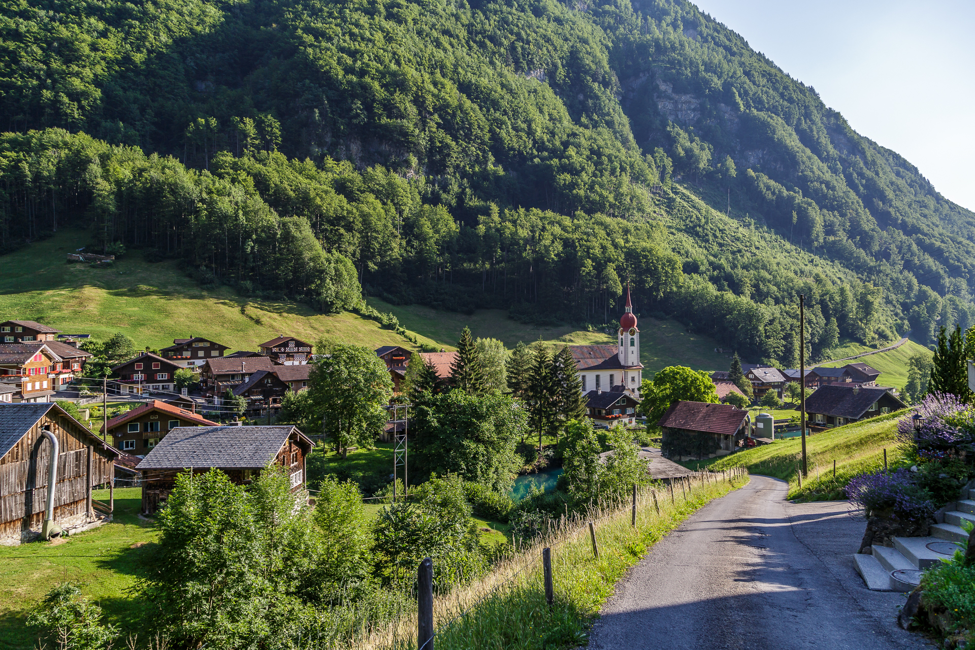 Isenthal-Wandern