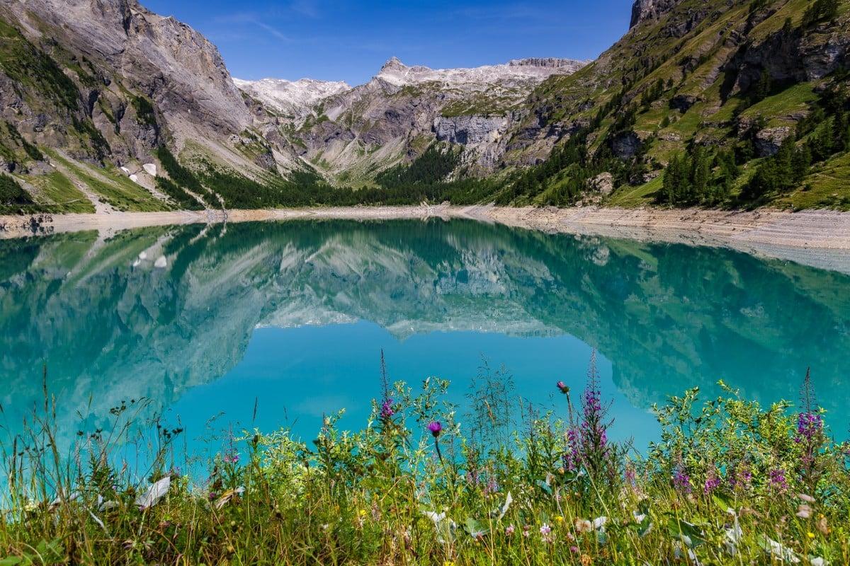Bisse du Ro – Suonenwanderung vom Lac de Tseuzier nach Crans Montana
