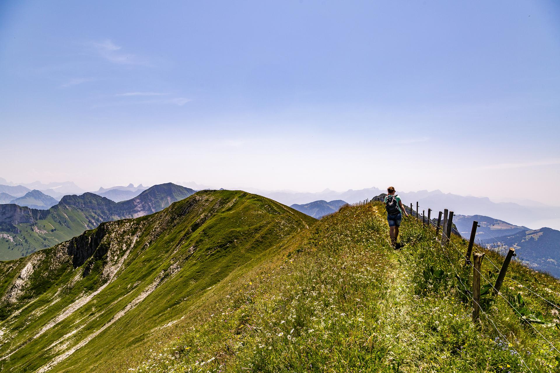 Moleson-Gratwanderung-Fribourg
