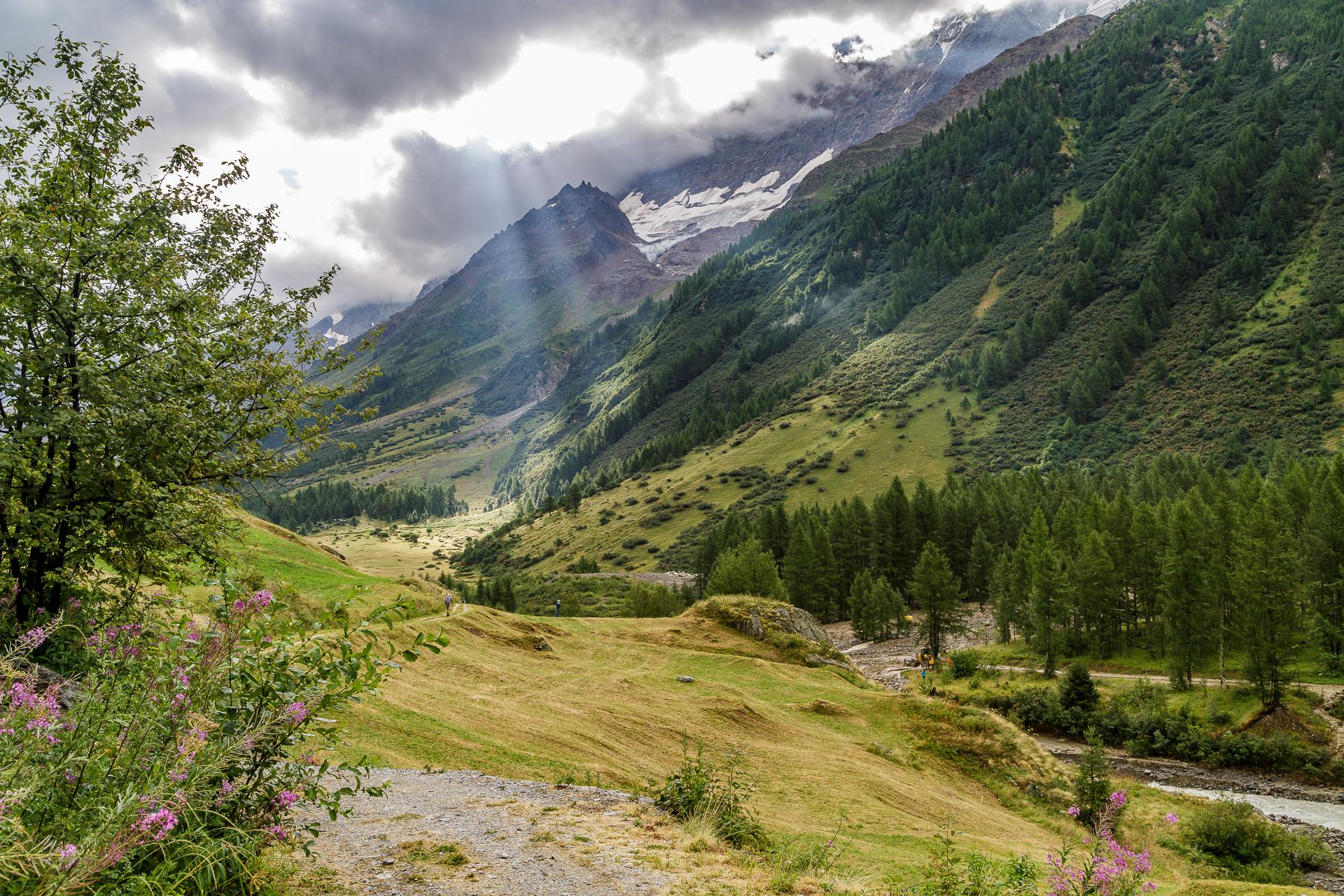 Wanderweg-Blatten-Fafleralp