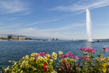 Städtereise: ein Sommerweekend in Genf