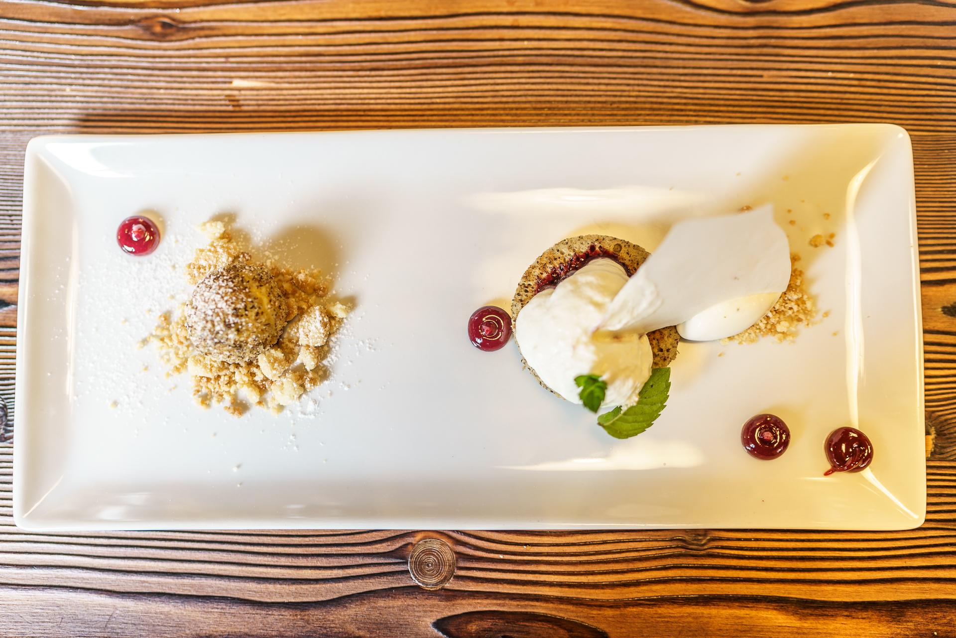 Buchweizen-Dessert