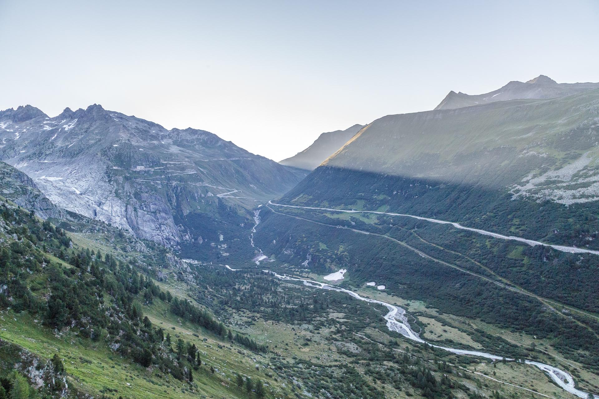 Rhonegletscher-Furka