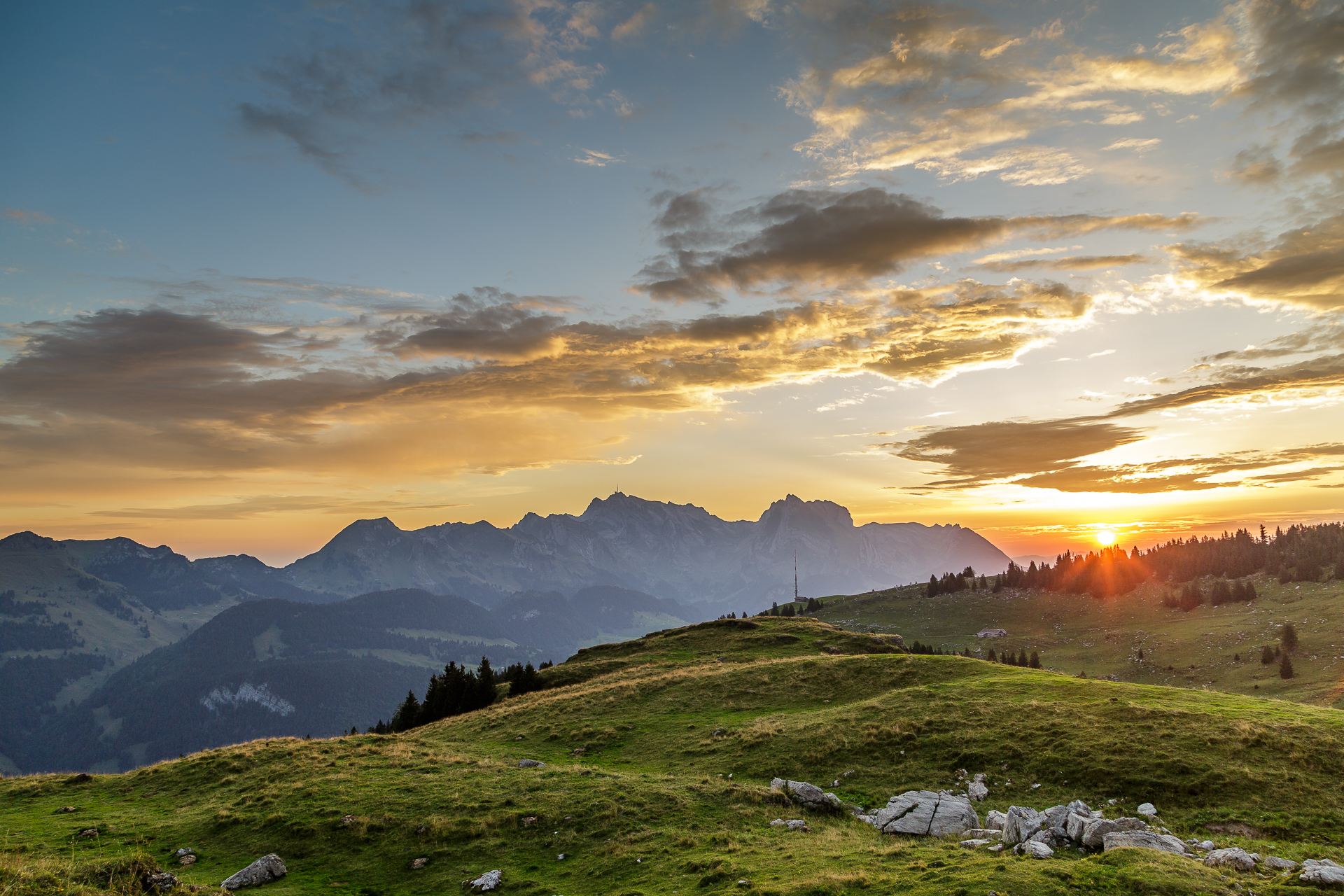 Sonnenaufgang-Saentis