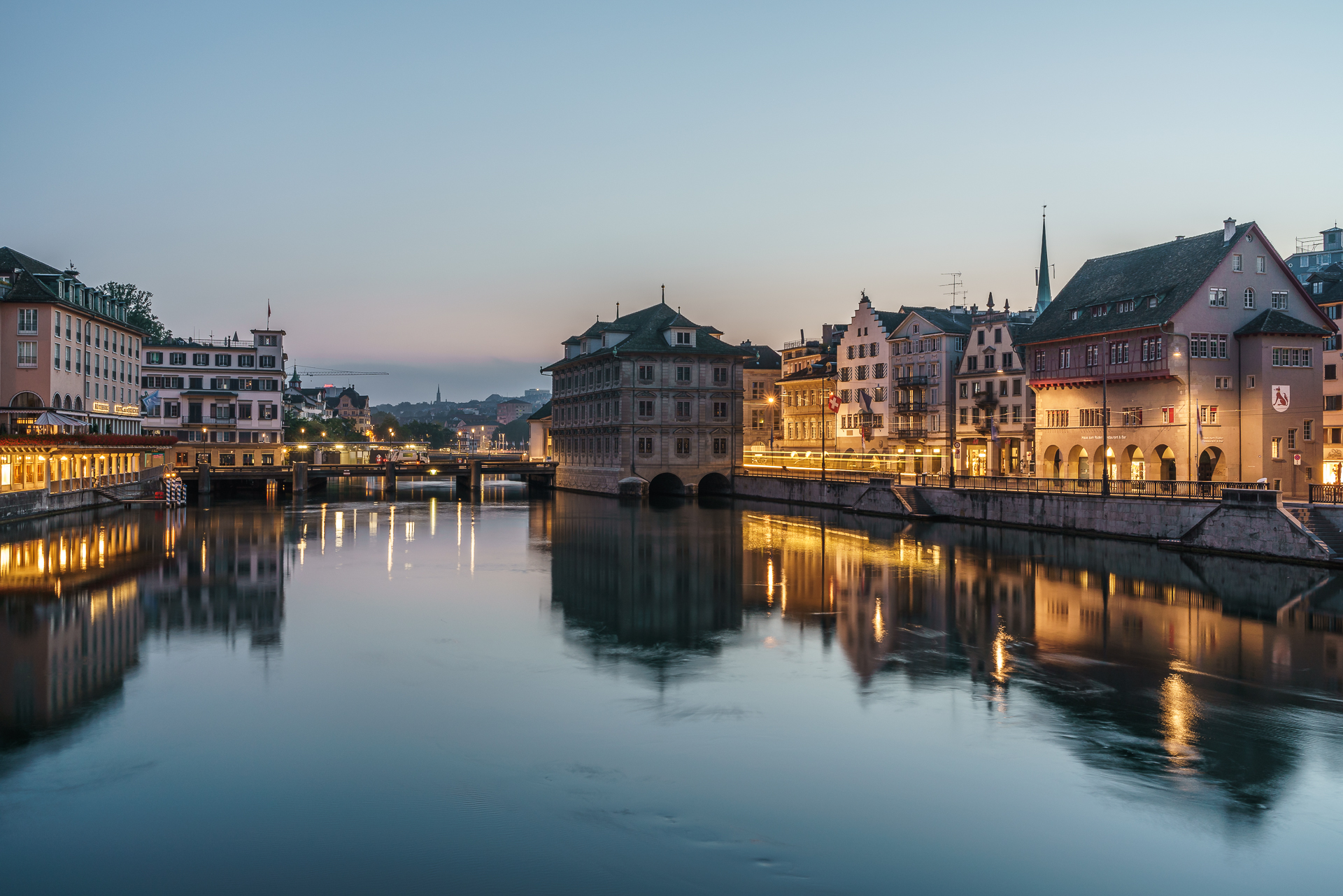 Zuerich-blue-Hour