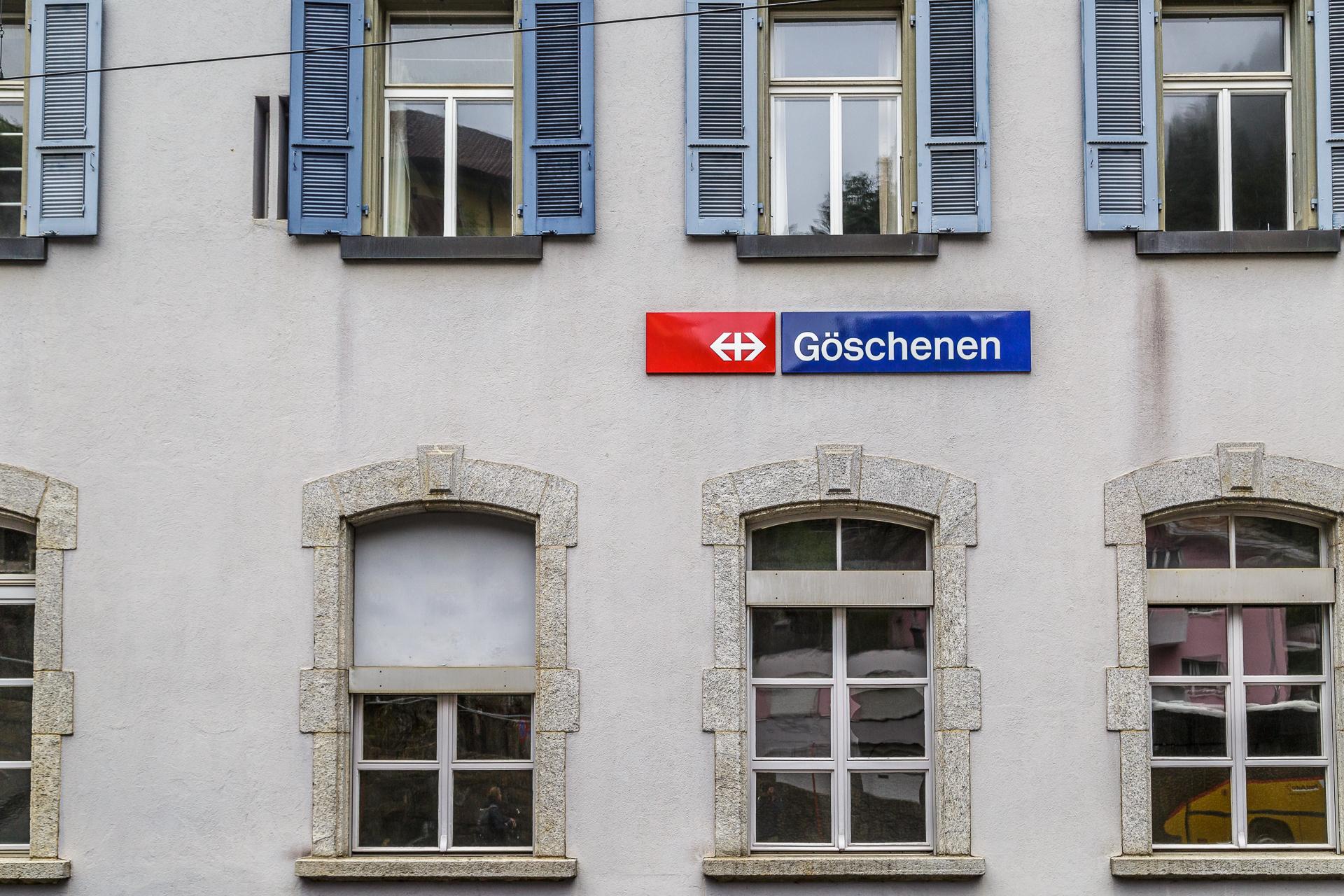 Goeschenen-Bahnhof