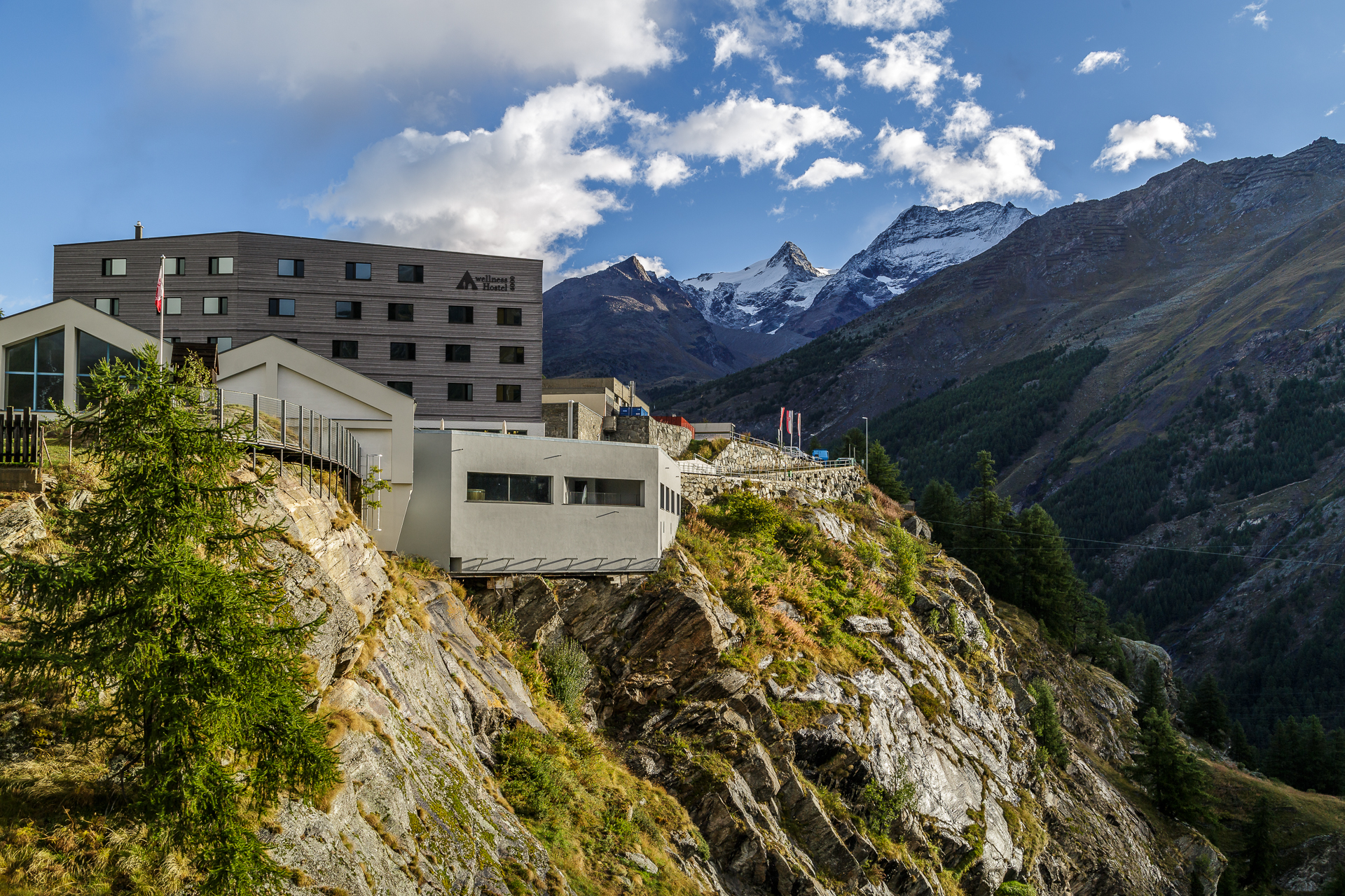 Saas-Fee-Wellnesshostel