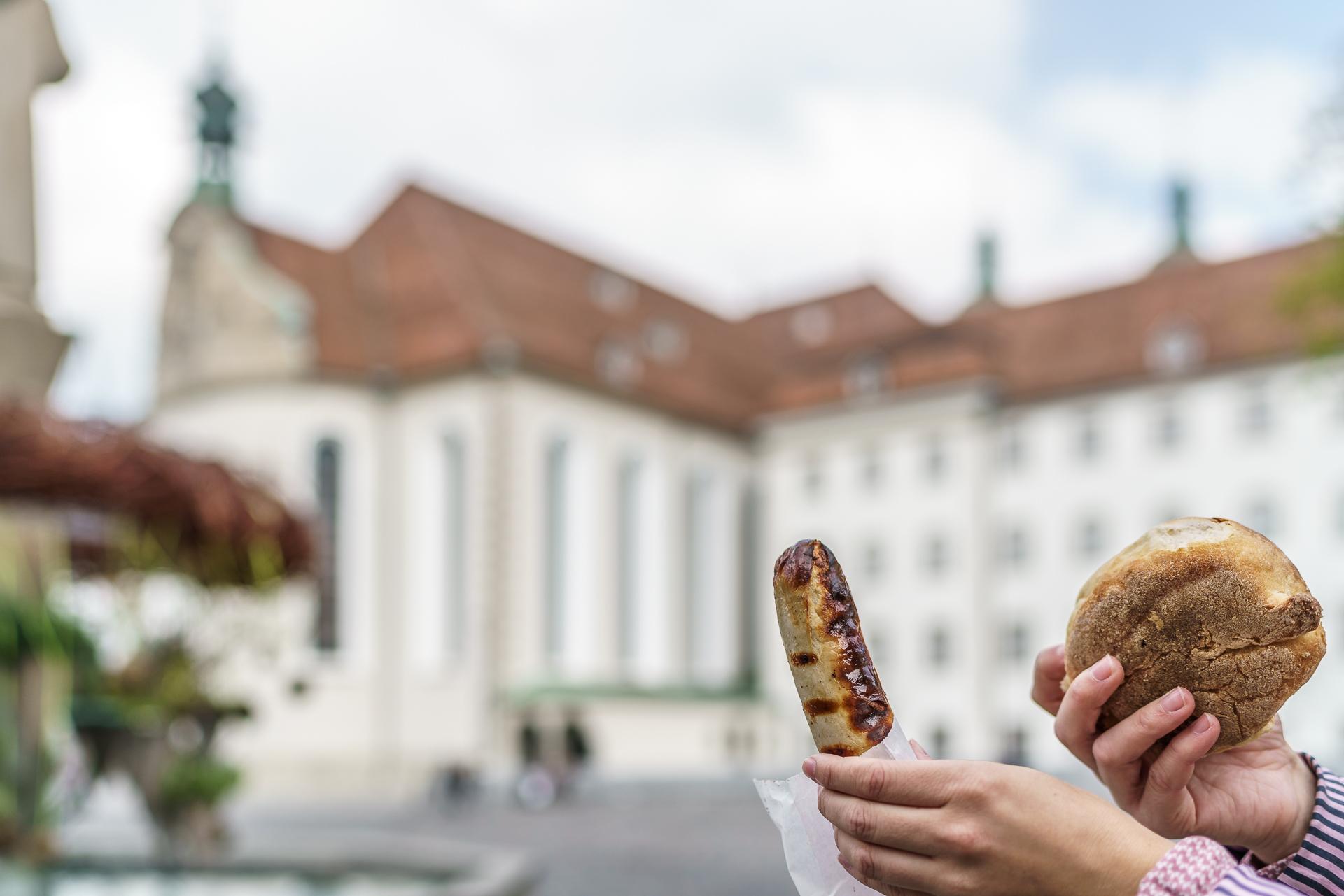St-Galler-Bratwurst