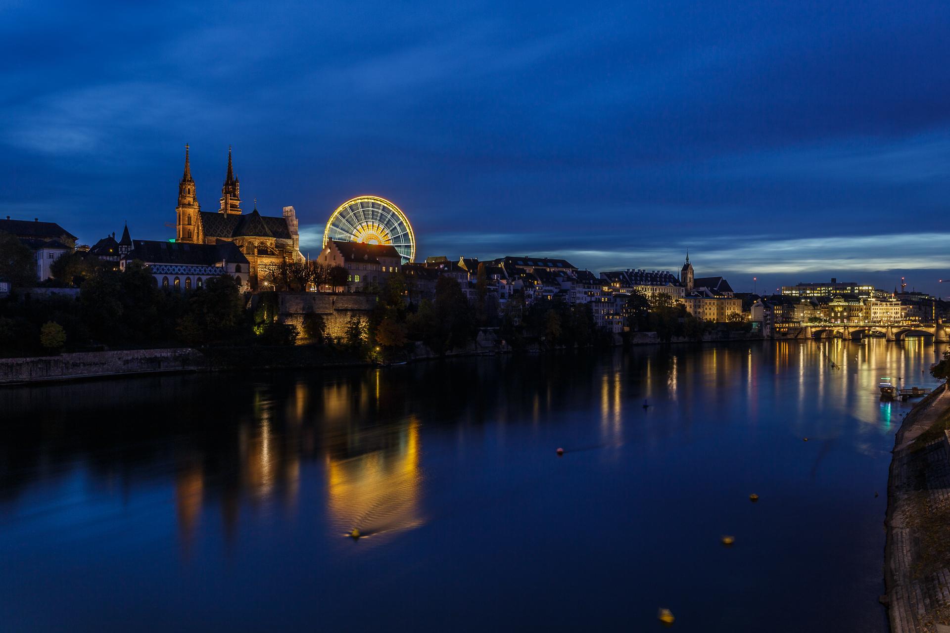 Basel-Skyline-Nacht