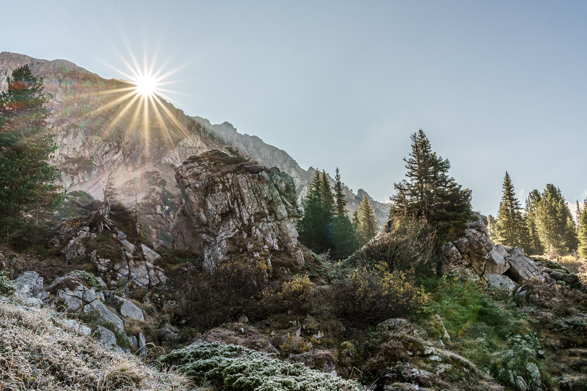 Haechlenstock-Sonnenaufang