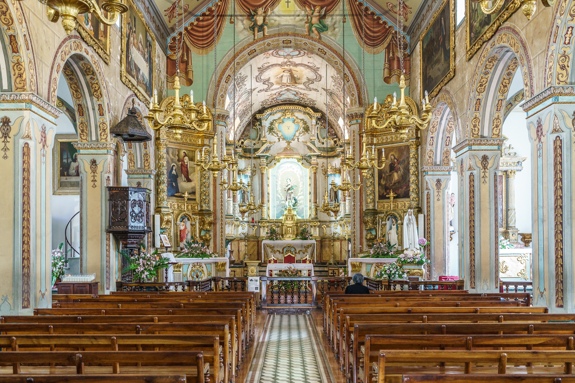 Kirche-Sao-Vicente-Madeira
