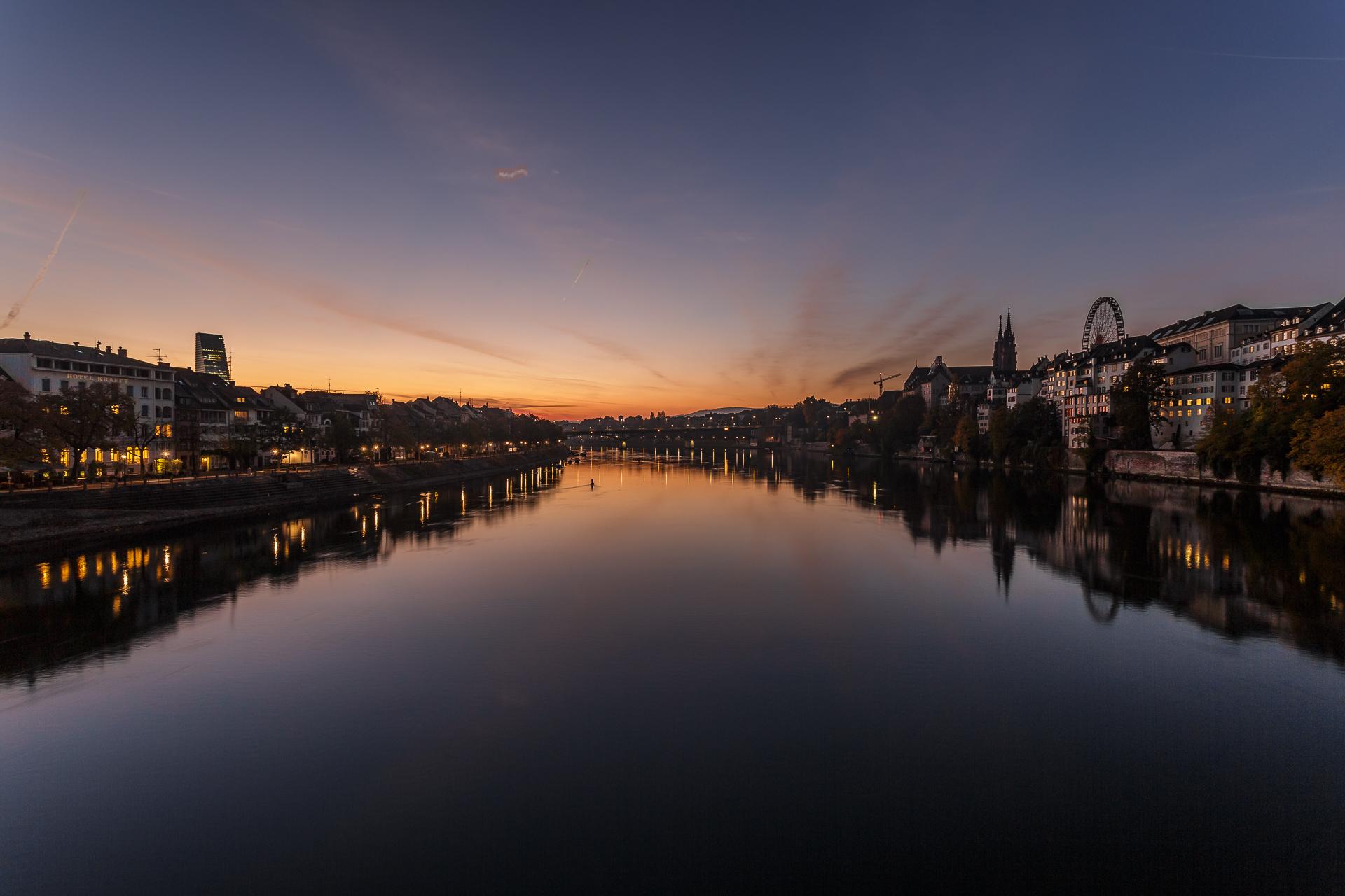 Sonnenaufgang-Basel