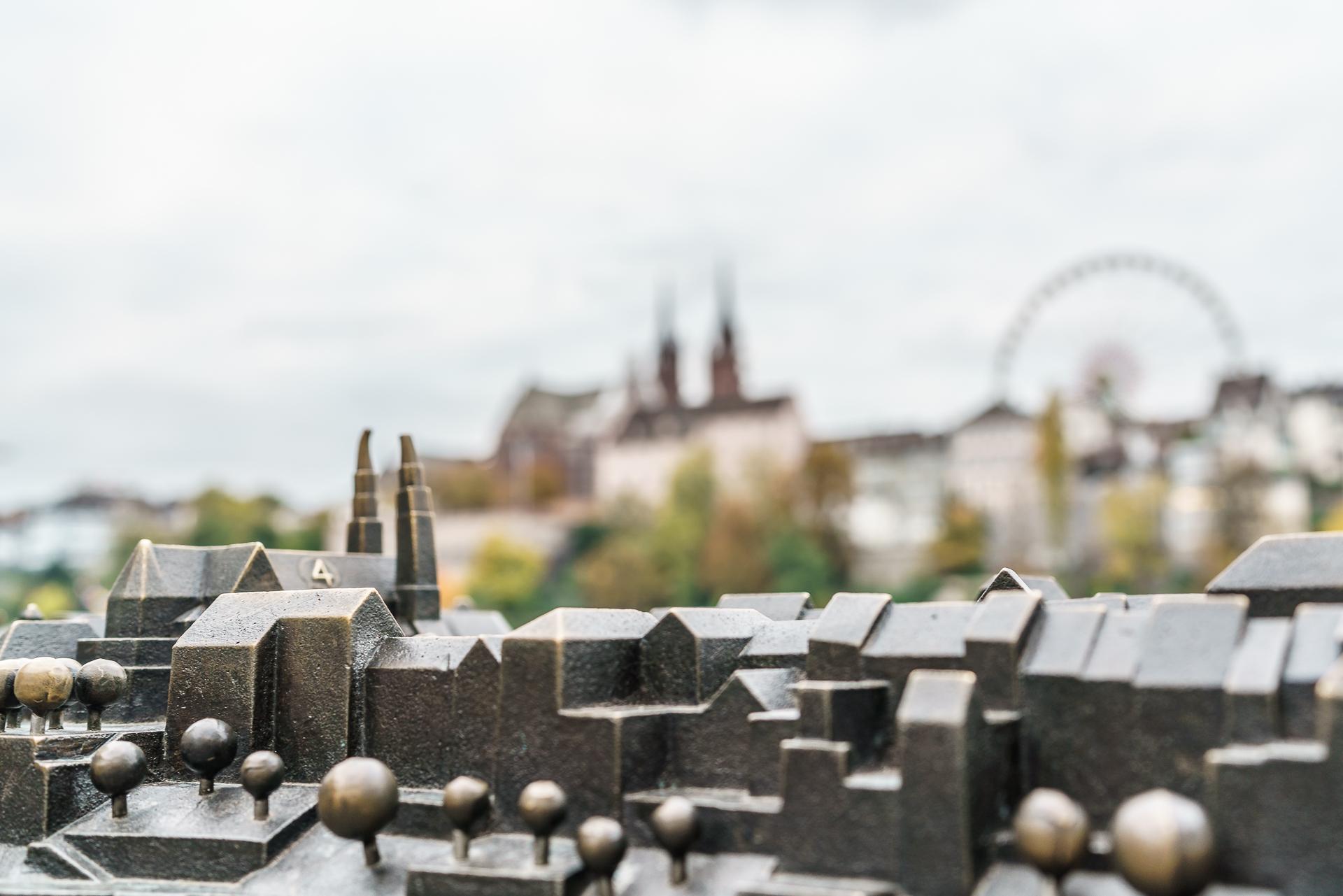Stadtmodell-Basel