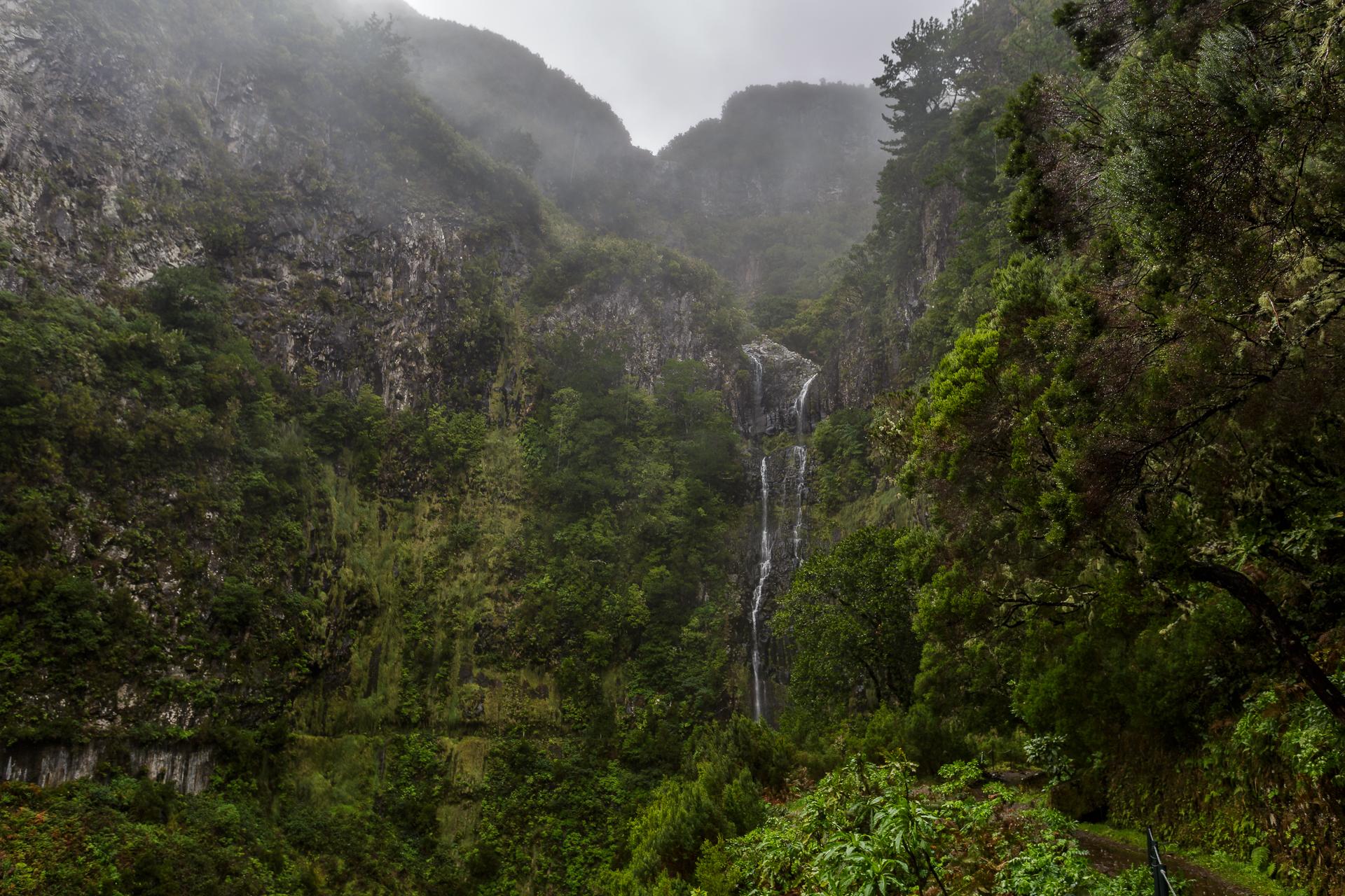 madeira-risco-Wasserfall