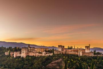 Alhambra Granada - von zerstörten Illusionen