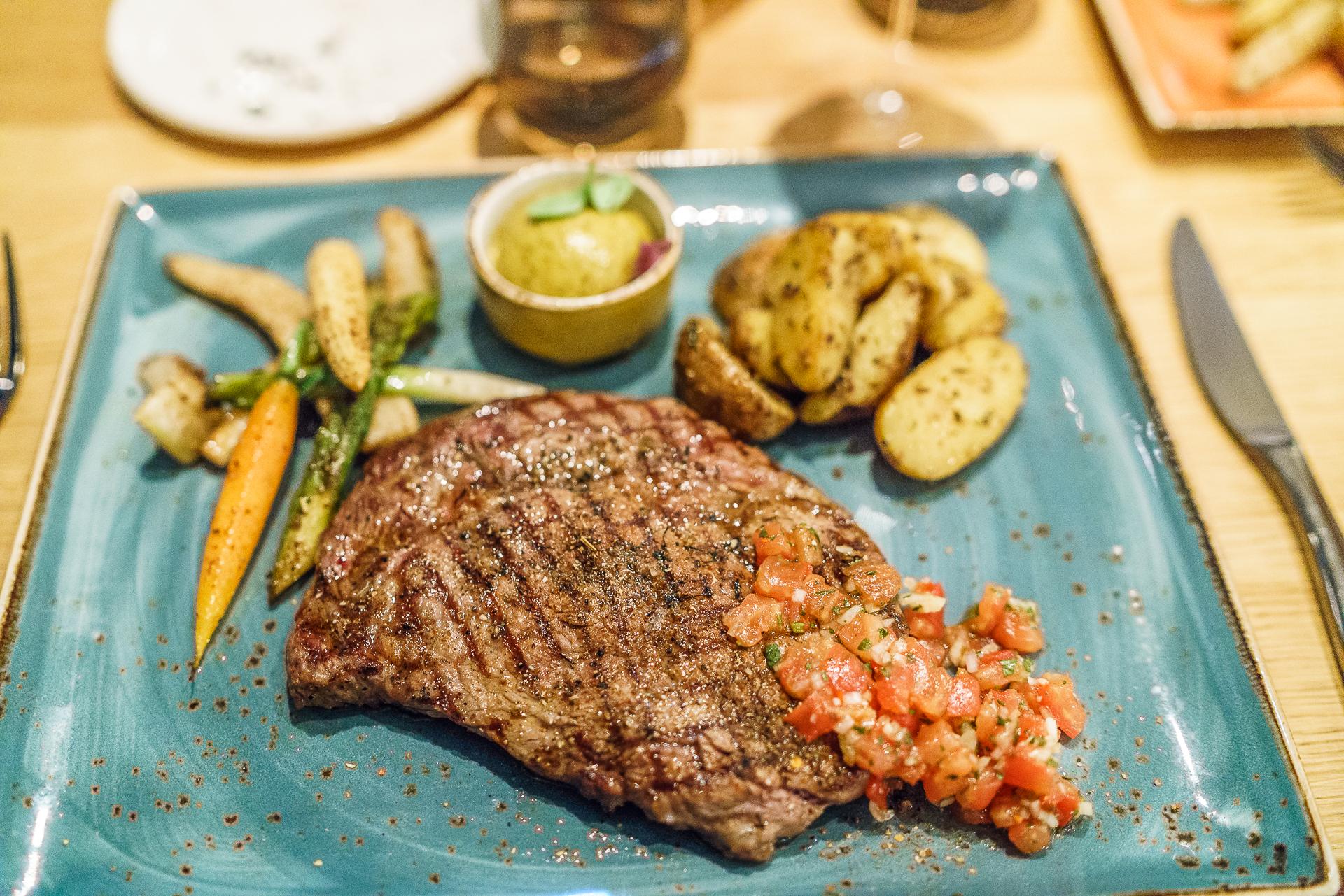 Alpenbrasserie-Fleisch