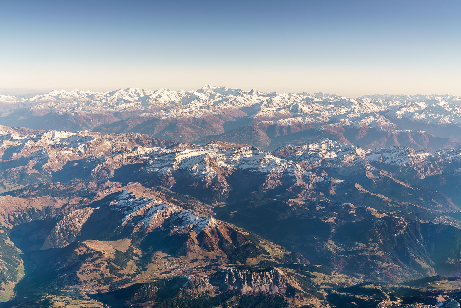 Swiss-Flug-Alpen