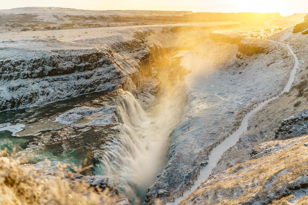 Island – auf dem Golden Circle ausgebremst