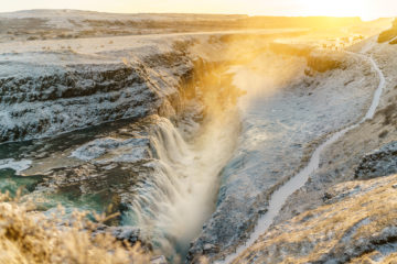 Island - auf dem Golden Circle ausgebremst