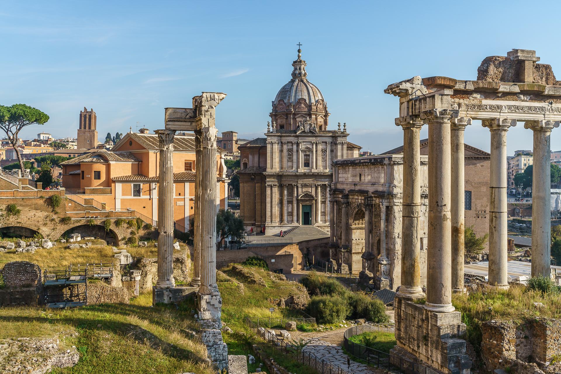 karte altes rom