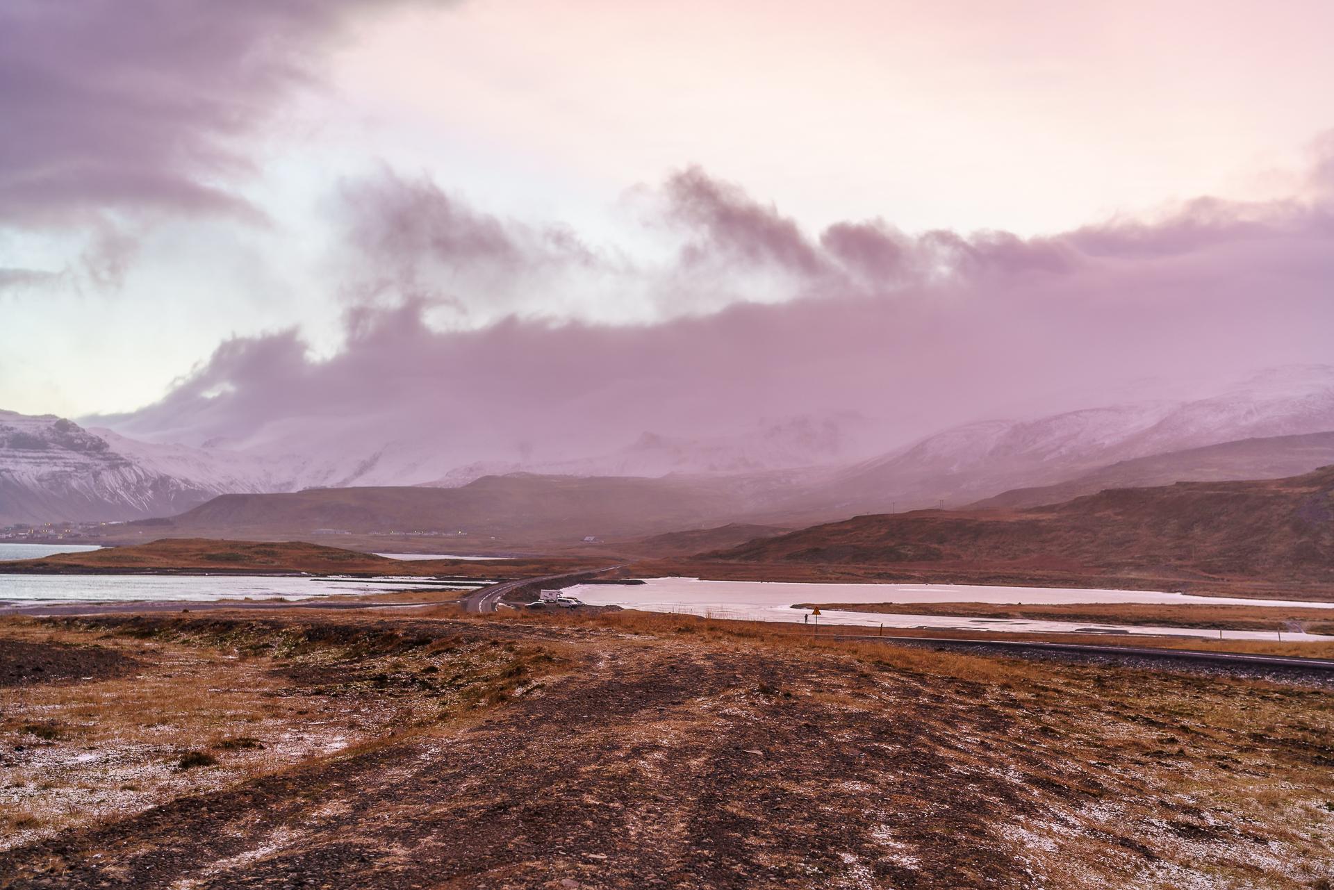 Grundarfjoerður-Morgenstimmung