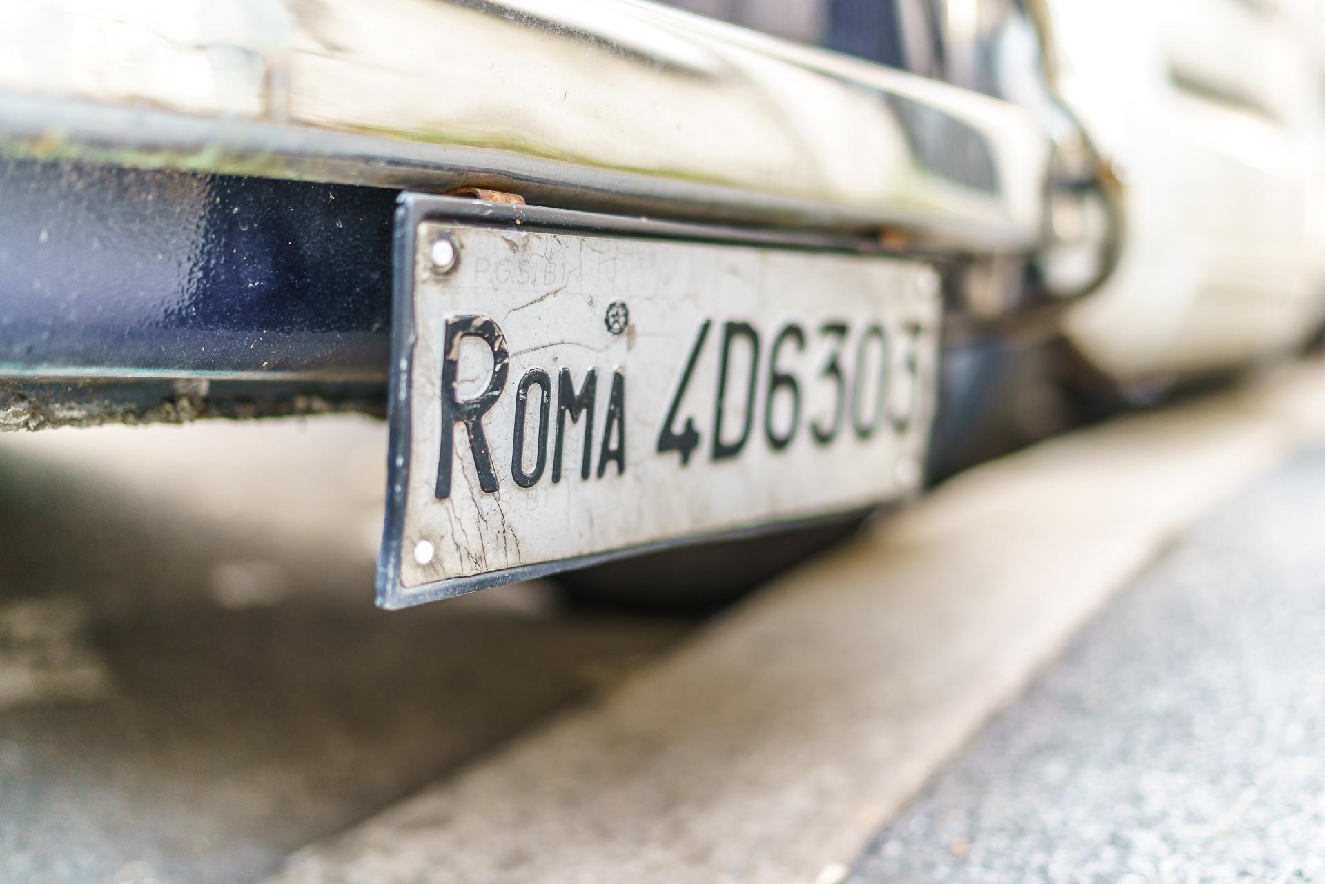 Roma-Autokennzeichen