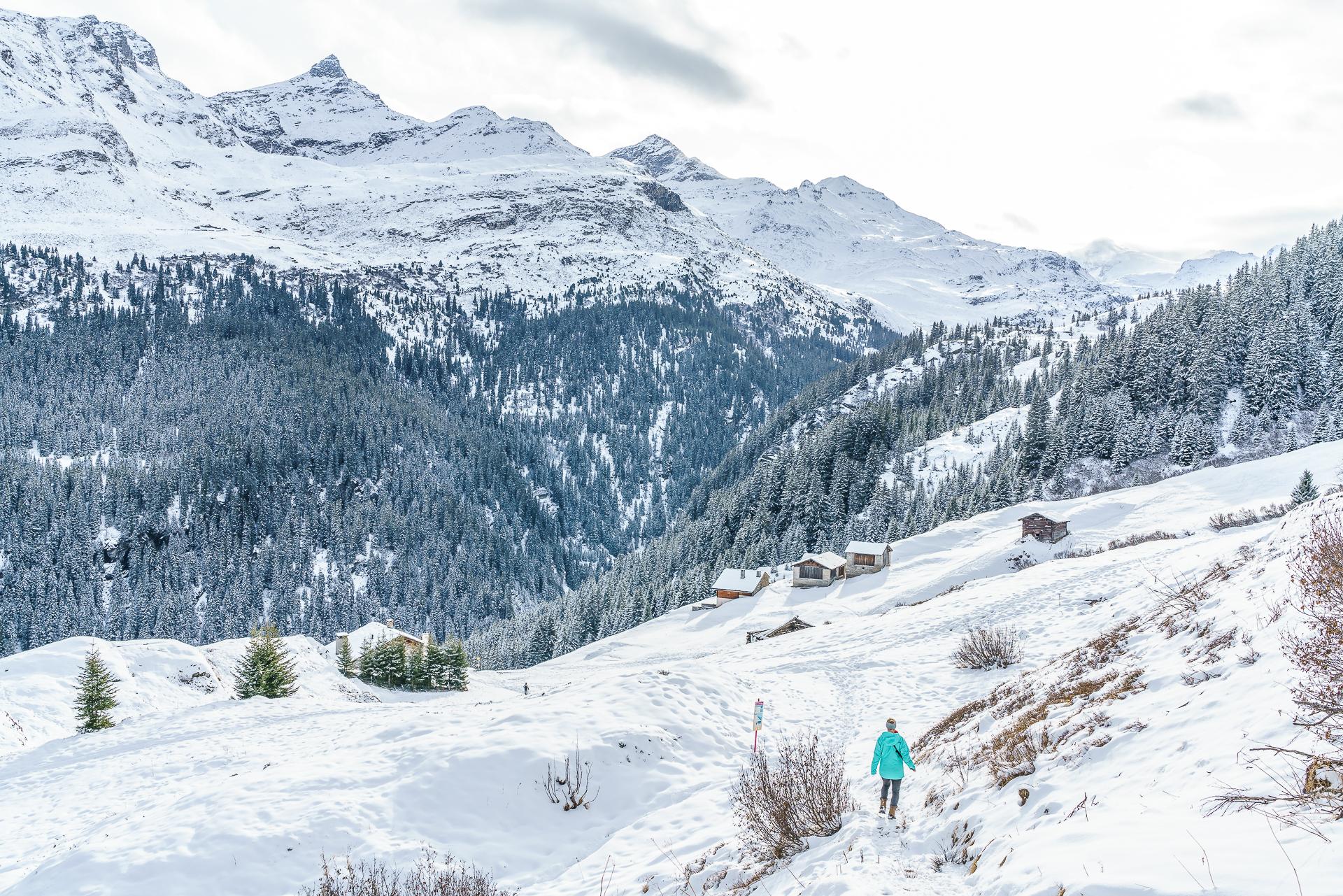 Gadastatt-Vals-Winterwandern